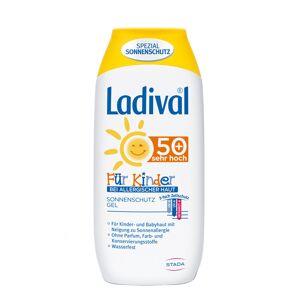 Stada Ladival® Kinder Sonnenschutz Gel bei allergischer Haut LSF 50+ 200 ml Gel