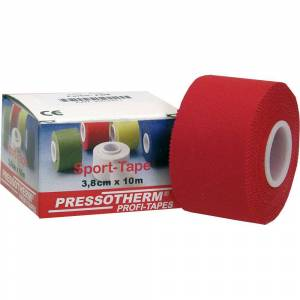 Pressotherm® Sport-Tape 3,8 cm x 10 m rot 1 St Verband