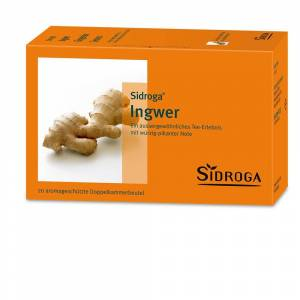 Sidroga® Ingwer 20X0,75 g Tee