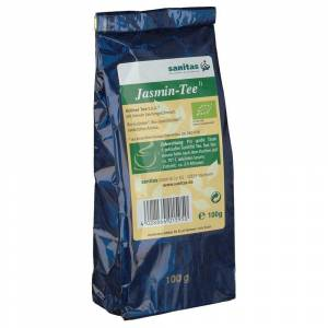 sanitas Grüner Tee China Jasmin kbA 100 g Tee