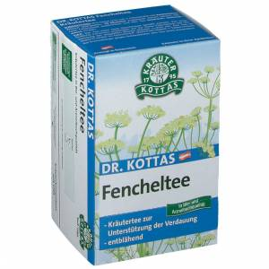 Dr. Kottas Fenchel Tee 20 St Filterbeutel