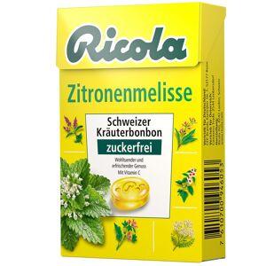 Ricola® Schweizer Kräuterbonbons Box Zitronenmelisse ohne Zucker 50 g Bonbons