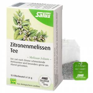 Salus® Zitronenmelissen Tee 15 St Filterbeutel