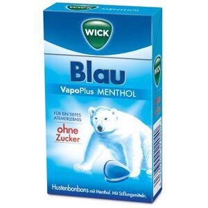 Wick Blau VapoPlus Menthol ohne Zucker 46 g Bonbons