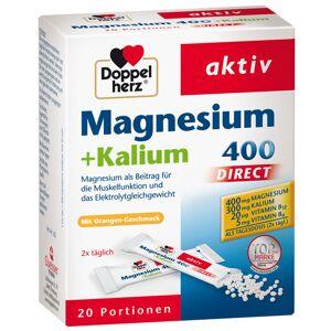 Doppelherz® aktiv Magnesium + Kalium Direct 20 St Pellets