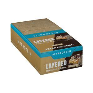 MyProtein Layered Protein Bar Cookies & Cream 12x60 g Riegel