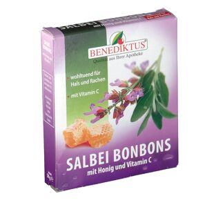 Benediktus® Salbei Bonbons Honig + Vitamin C 50 g Bonbons