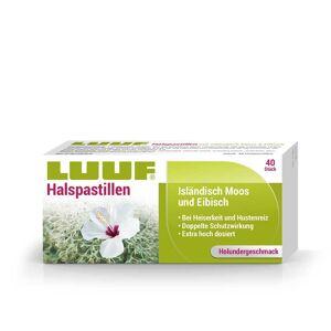 Luuf® Halspastillen mit Isländisch Moos und Eibisch - Holunder 40 St Lutschpastillen