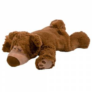 Warmies® Wärme Stofftier Sleepy Bear Braun 1 St Wärmestofftier