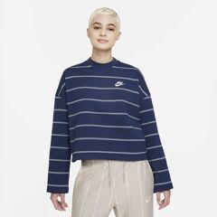 Nike Sportswear Women's Long-Sleeve Top - Blue - size: XS, S, M, L, XL