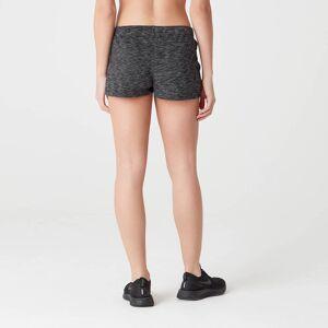 Myprotein Luxe Lounge Shorts - Black Heather - M
