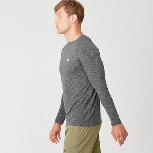 Myprotein Performance Long-Sleeve T-Shirt - Black Marl - XXL