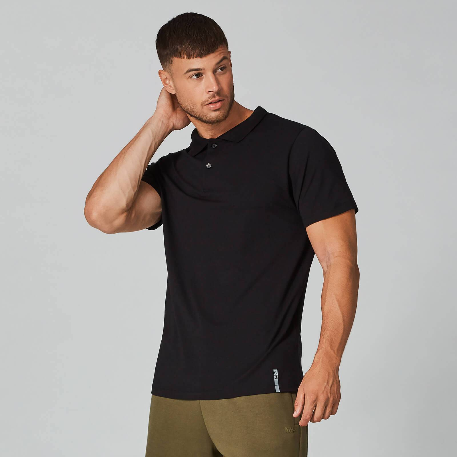Myprotein Luxe Classic Polo - Black - S