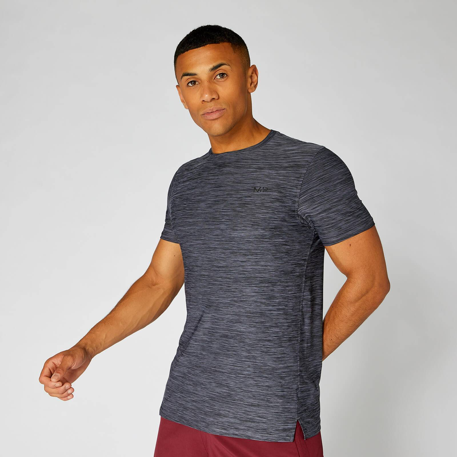 Myprotein Dry-Tech Infinity T-Shirt — Blue Marl - XS