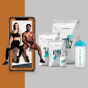 Myprotein The Build-Muscle Bundel + Gratis Training & Nutrition Guide - Peach Mango - Fruit Punch - Naturel