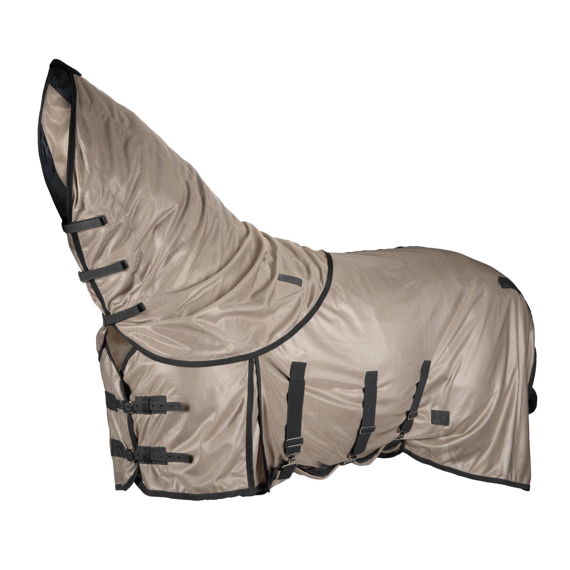 Fouganza Chemise anti-mouche équitation cheval et poney beige - Fouganza