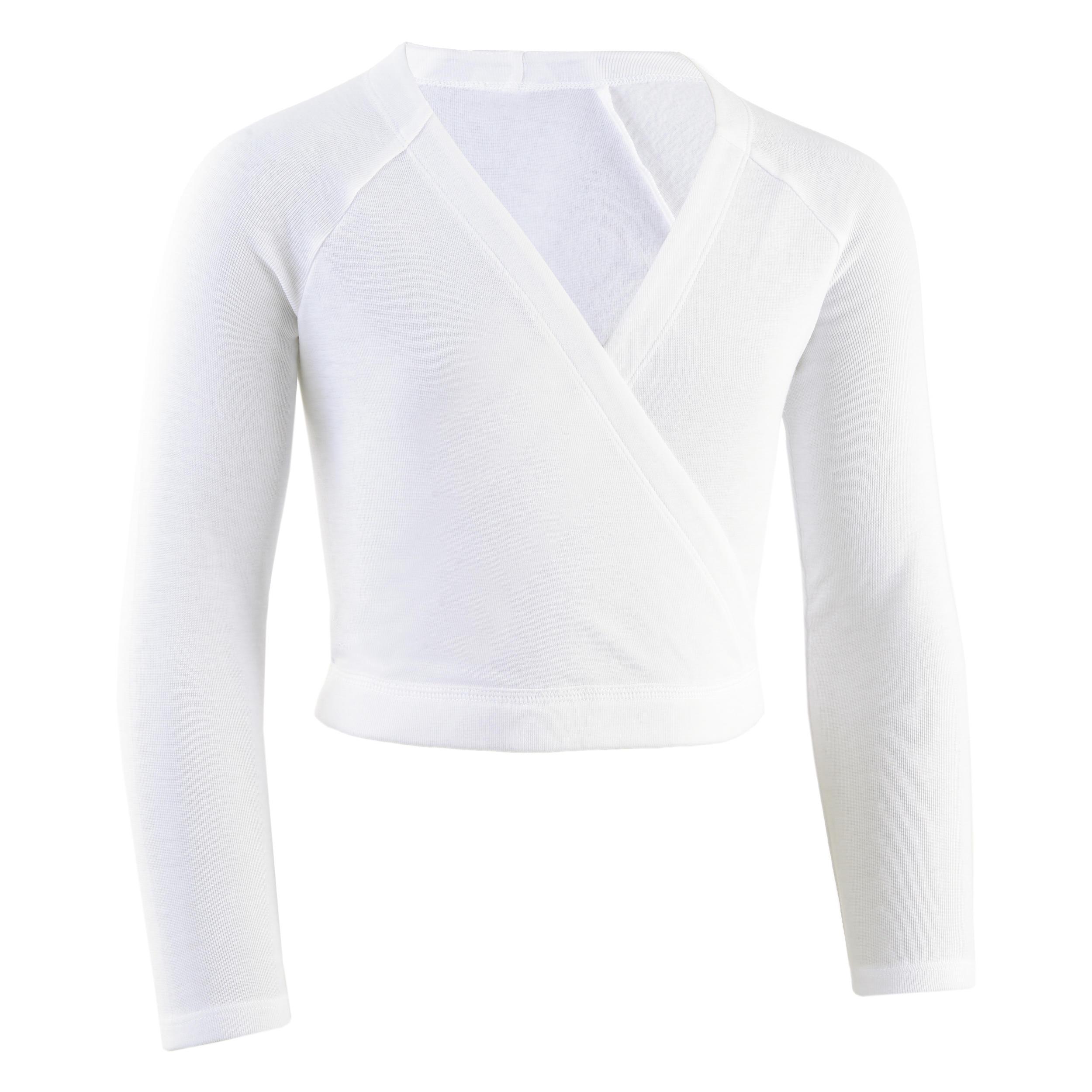 Domyos Cache coeur danse classique blanc fille - Domyos
