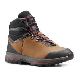 FORCLAZ Chaussures en cuir semelles souples de trekking montagne - TREK 100 CUIR femme - FORCLAZ - 38