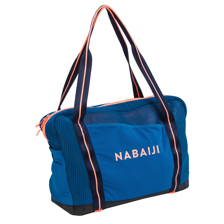Nabaiji Sac Aquagym et Aquafitness bleu orange - Nabaiji