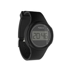 Kiprun Montre chronomètre de course à pied W100 S noire - Kiprun