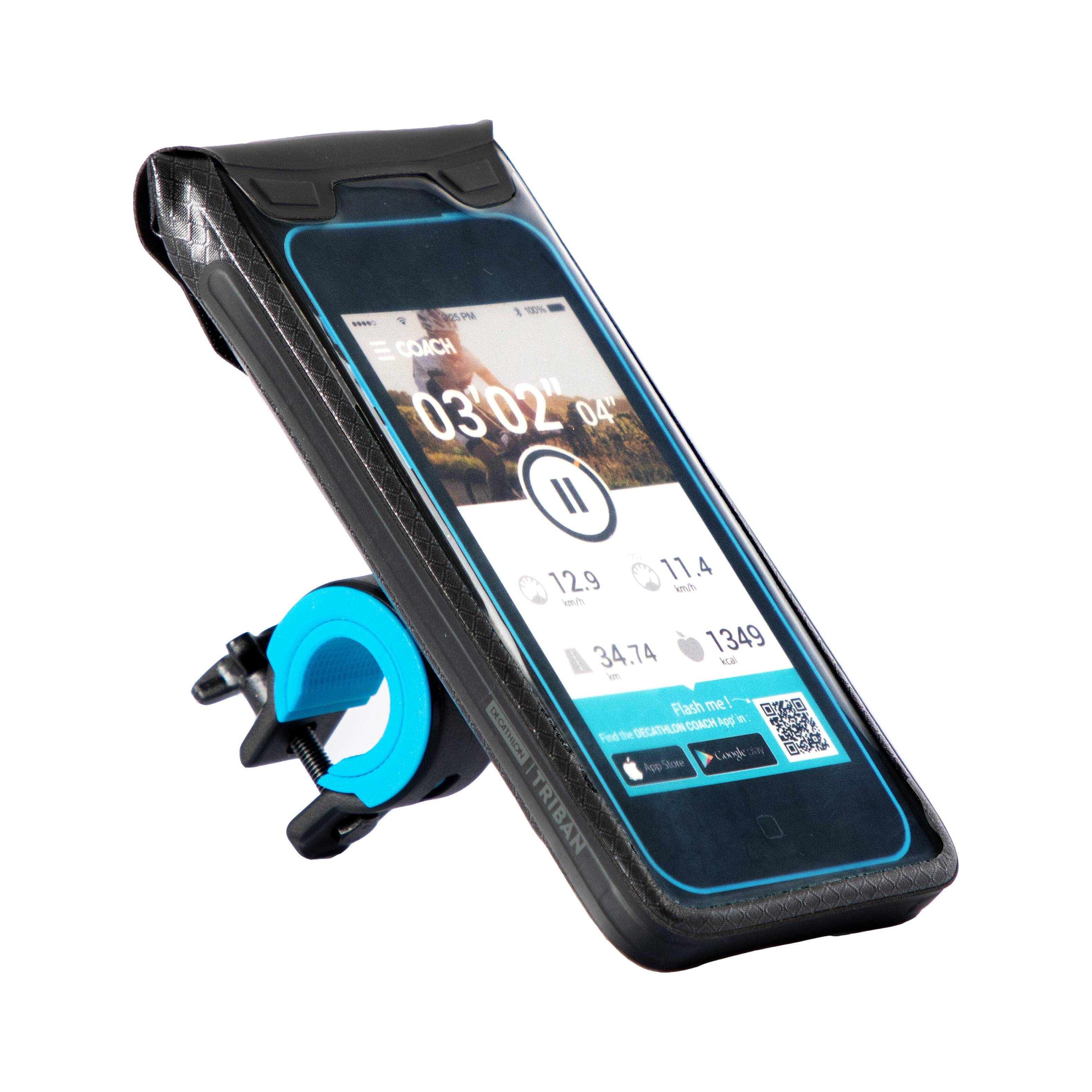 Triban Support smartphone vélo étanche 900 L - Triban