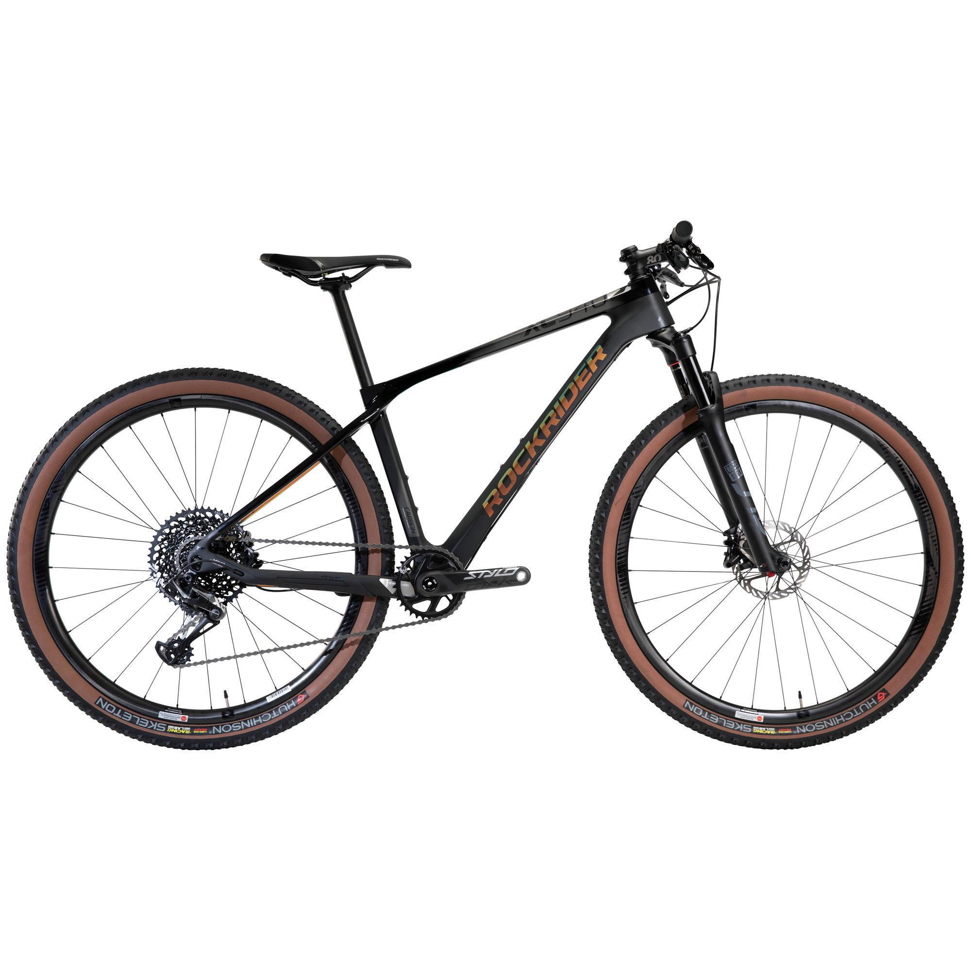 Rockrider Vélo VTT XC 940 LTD 29 semi rigide CARBONE Eagle 1x12 noir - Rockrider
