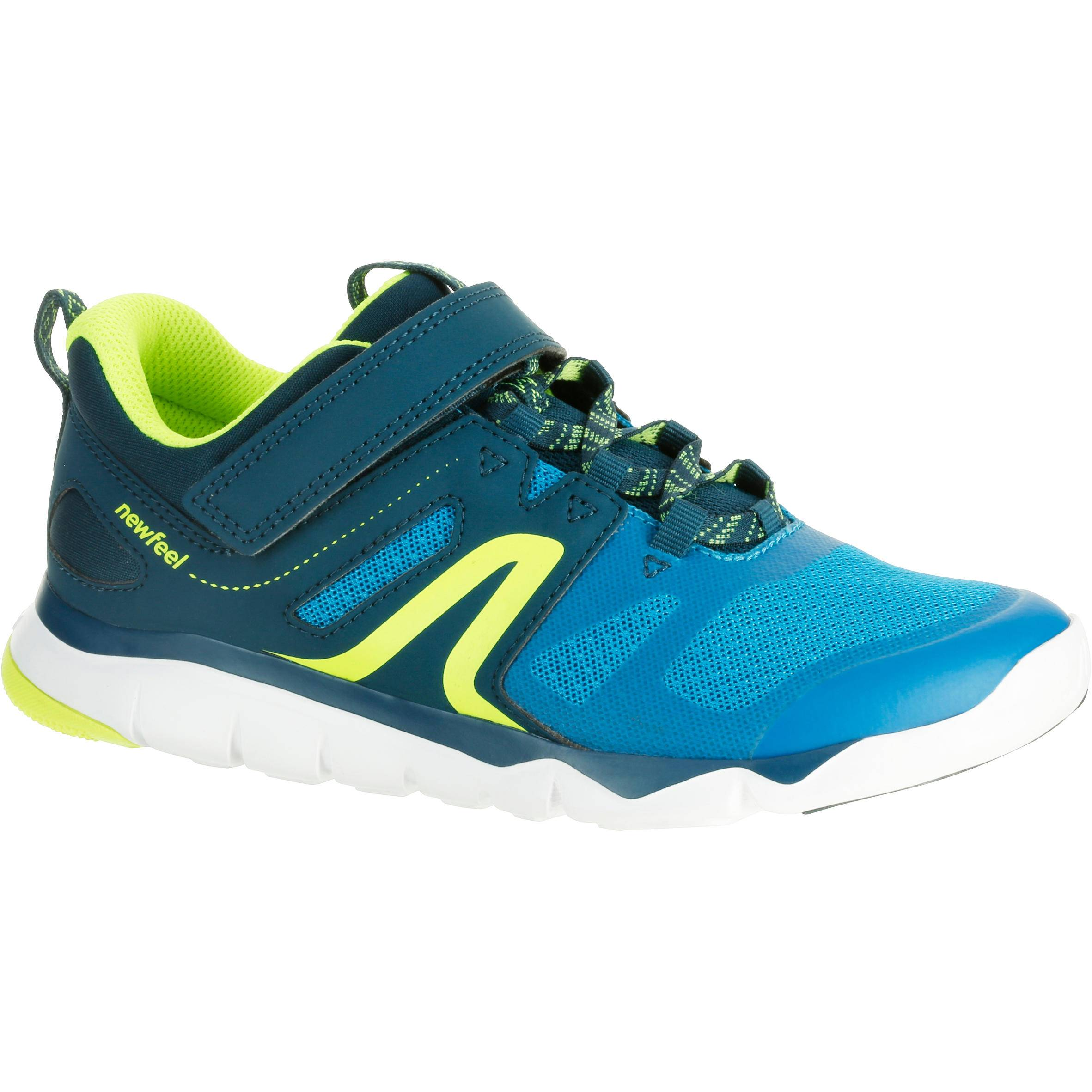 Newfeel Chaussures marche enfant PW 540 bleu / vert - Newfeel