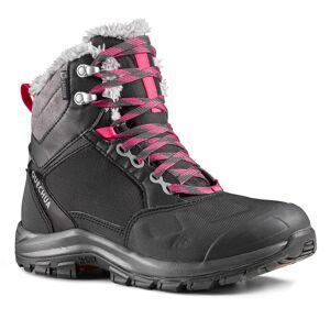 Quechua Chaussures de randonnée neige femme SH520 x-warm mid noir - Quechua