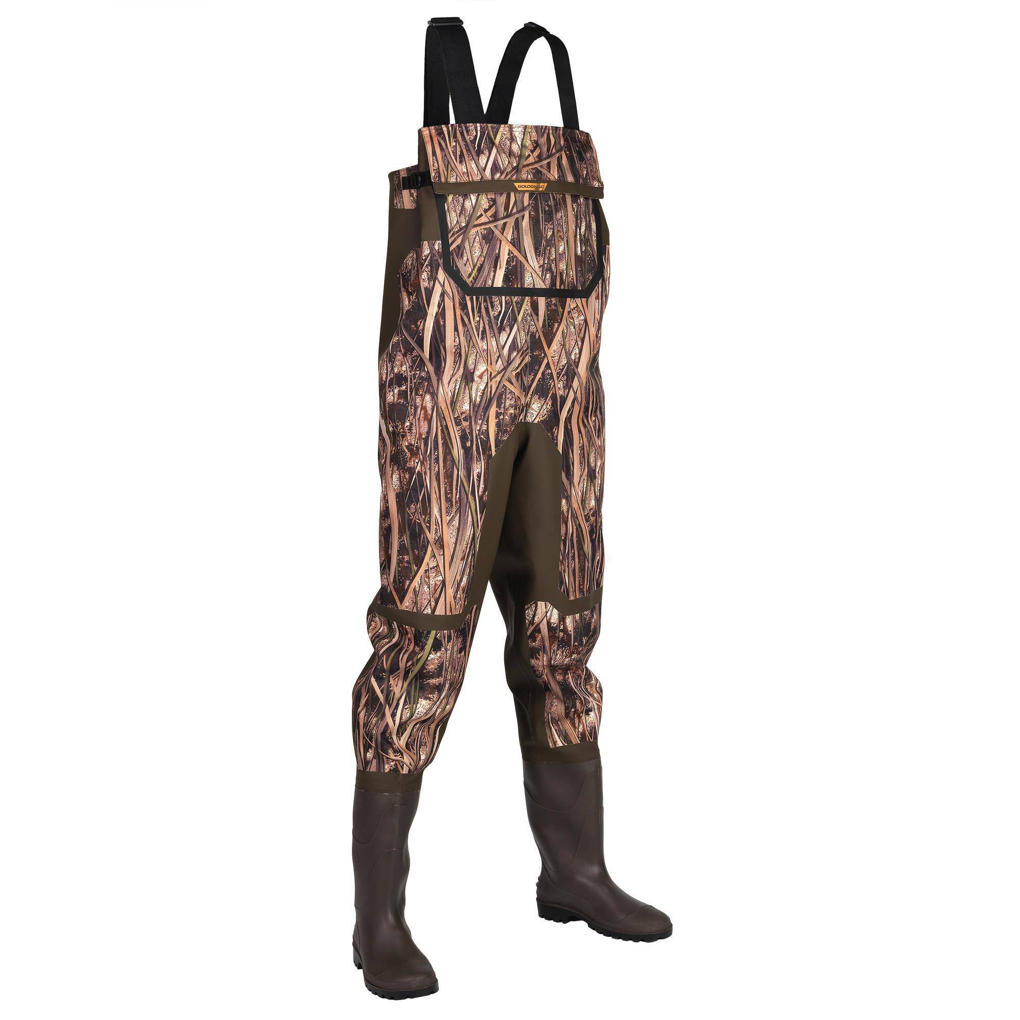 Solognac Waders chasse 500 camouflage marais - Solognac