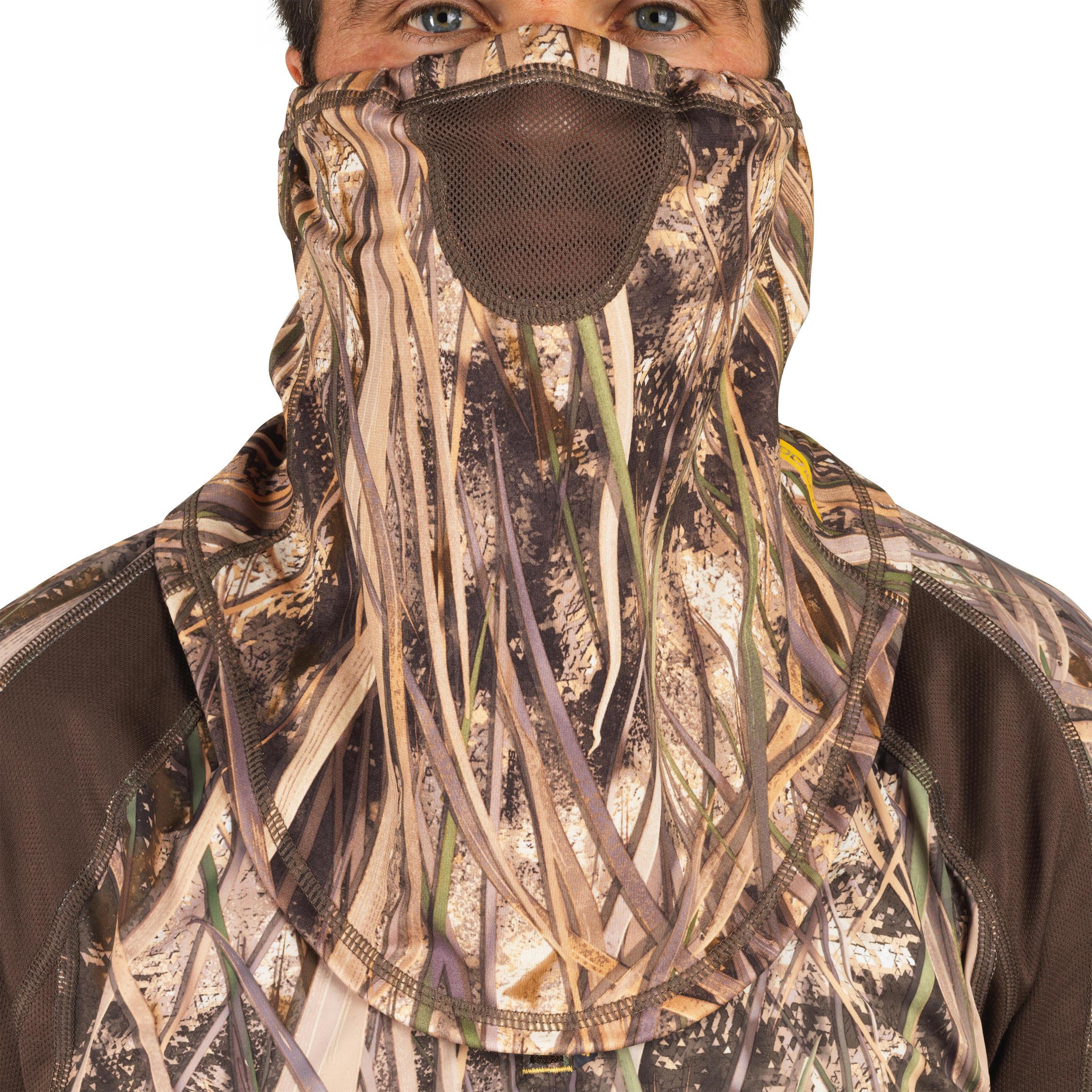Solognac Cache-cou chasse léger 500 camouflage marais - Solognac