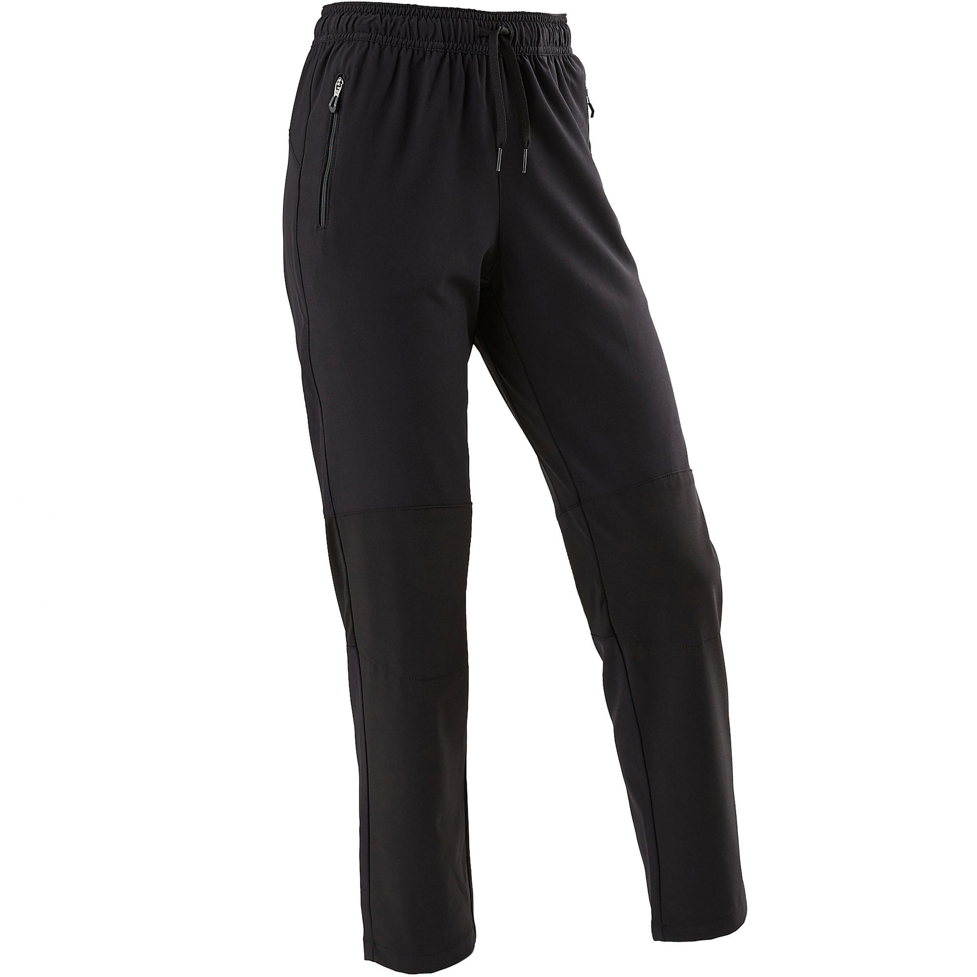 Domyos Pantalon large léger respirant, résistant W900 garçon GYM ENFANT noir - Domyos