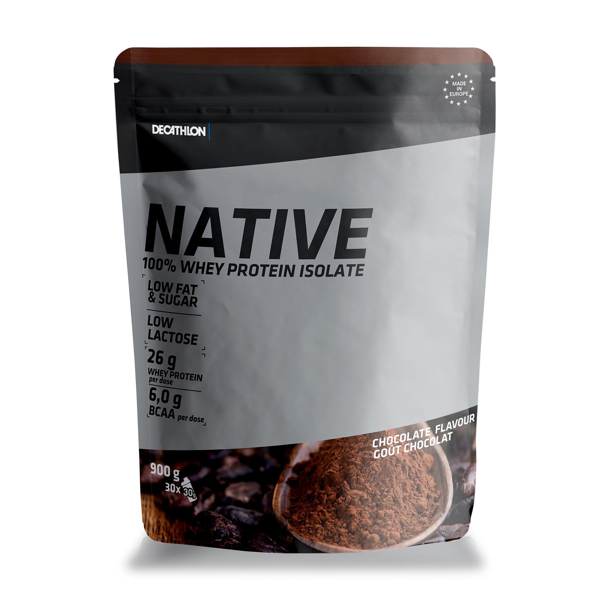Domyos WHEY PROTEIN NATIVE CHOCOLAT 900 grs - Domyos