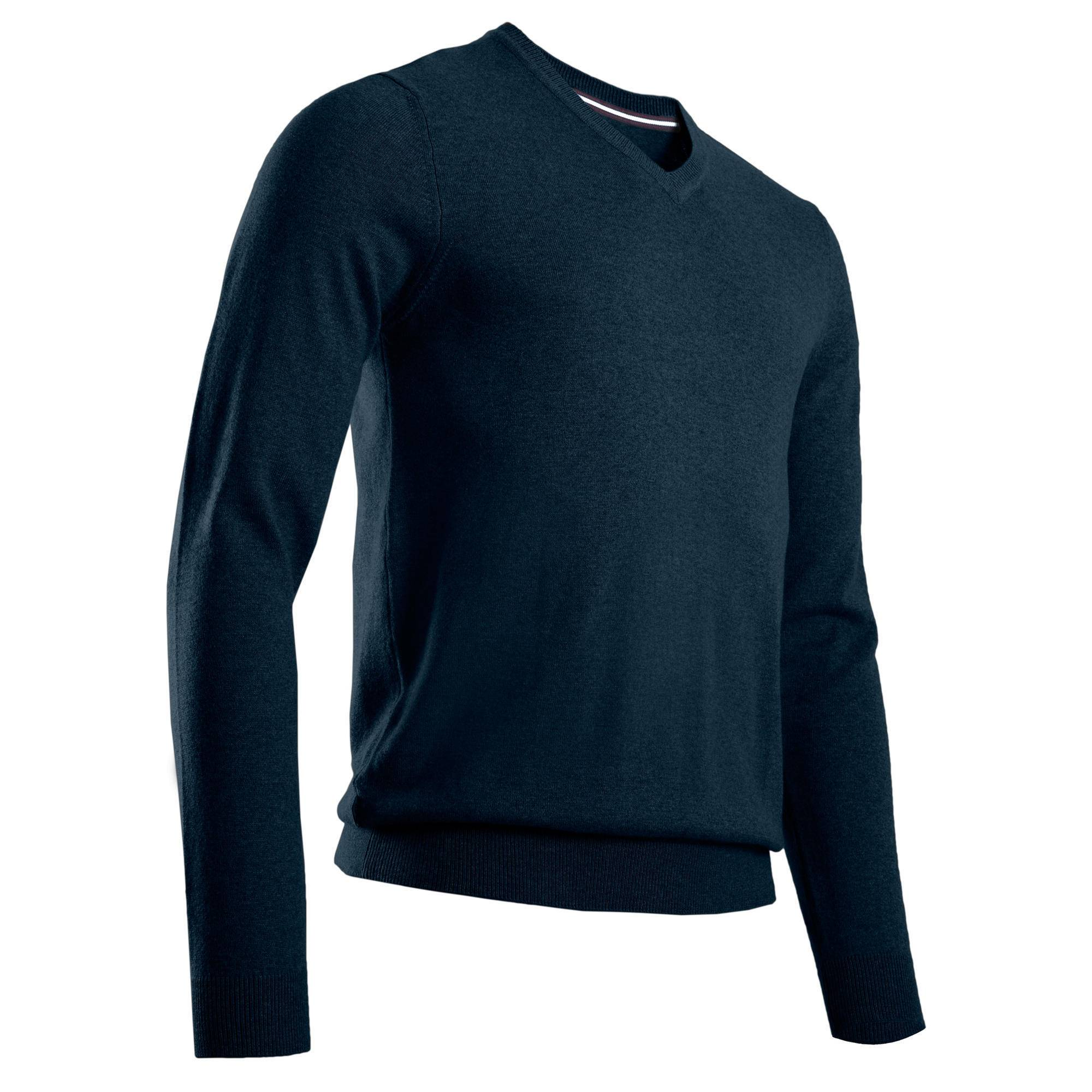 Inesis PULL GOLF COL V POUR HOMME MARINE - Inesis