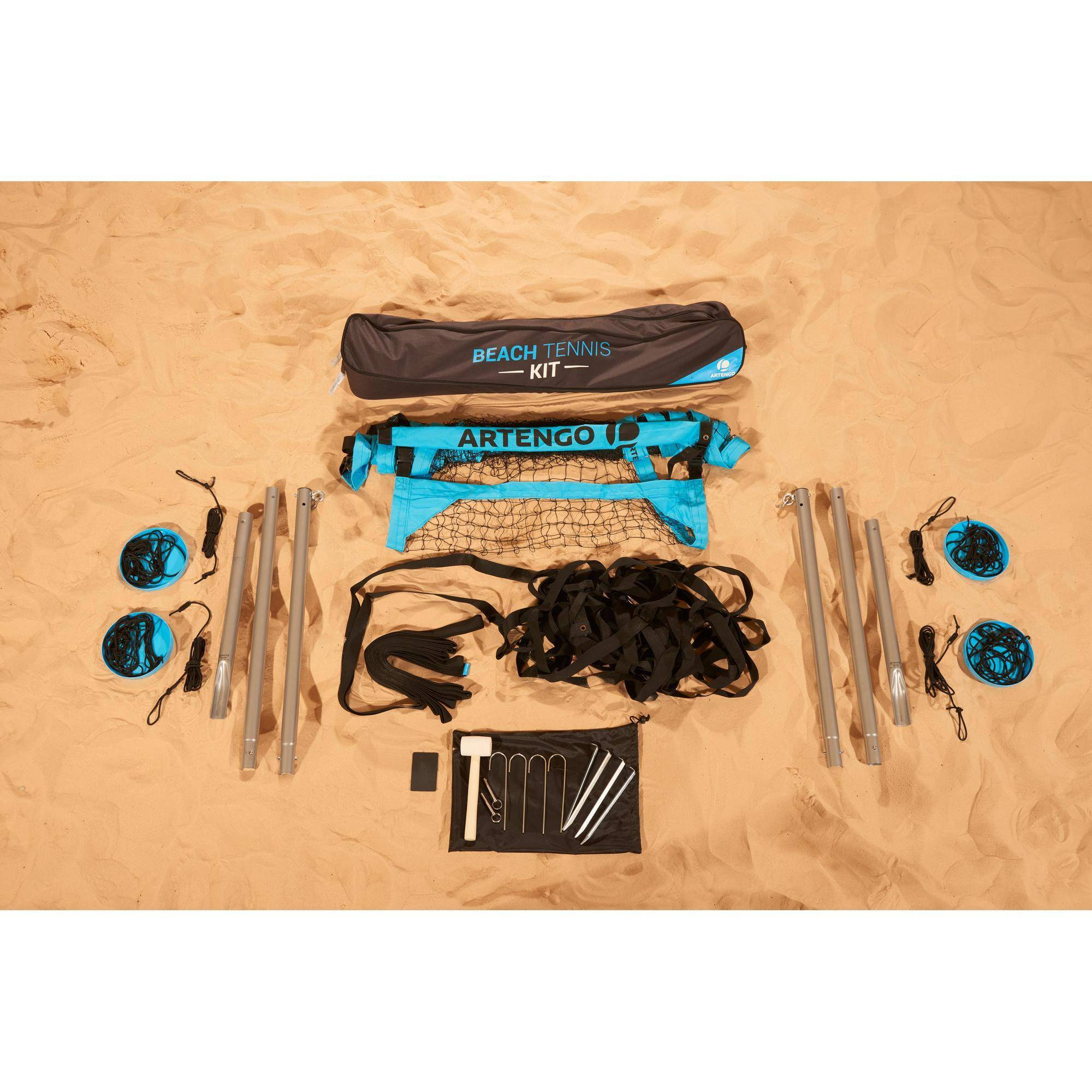 Artengo Kit Beach Tennis (poteaux, filets - Artengo