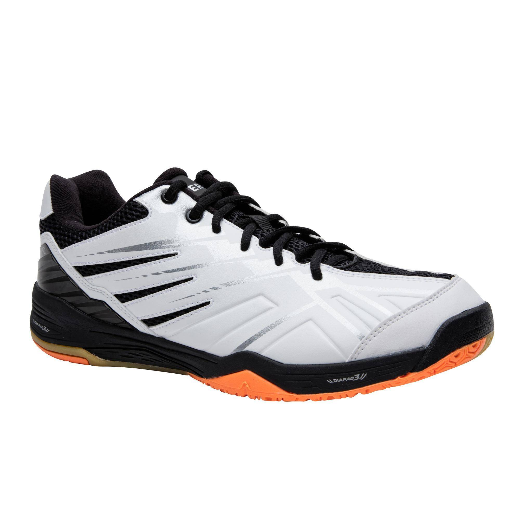 Perfly Chaussures de Badminton BS 590 Max Confort - Blanche - Perfly