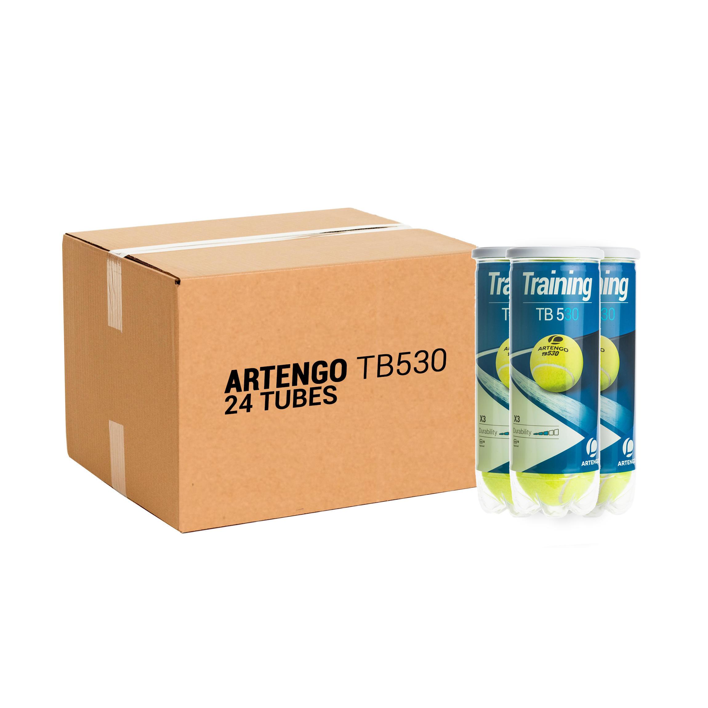 Artengo BALLE DE TENNIS TB530 *3 PACK *24 JAUNE - Artengo