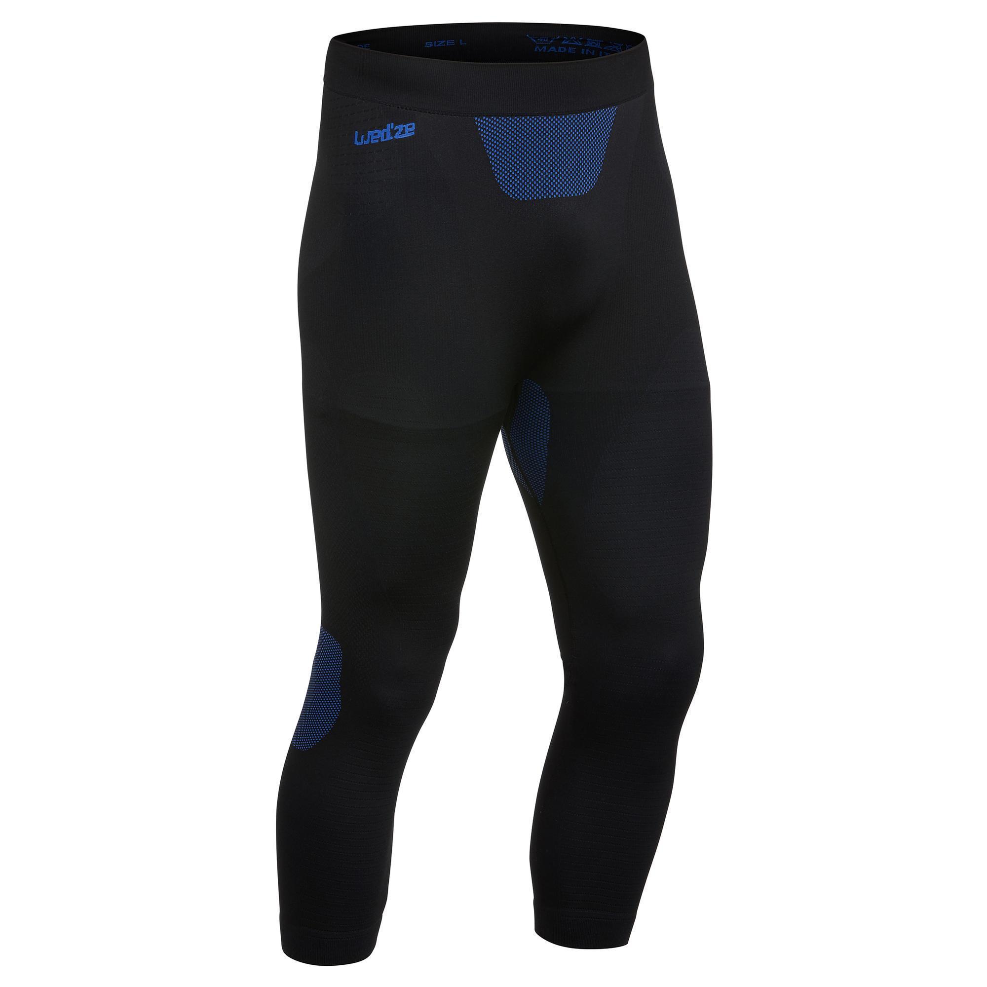 Wedze Sous-vêtement de Ski Homme Bas i-Soft Noir - Wedze
