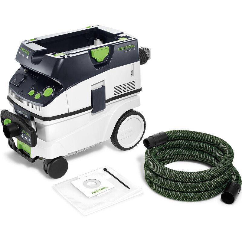 Festool Aspirateur eau et poussière Festool Cleantec CTL 26 E AC HD 1200W 26L