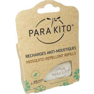 PARA KITO Parakito recharges anti-moustiques 2x15 jours