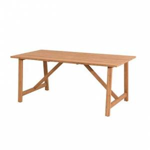 Maisonetstyles Table de jardin en teck 180x90x76 cm - GARDENA