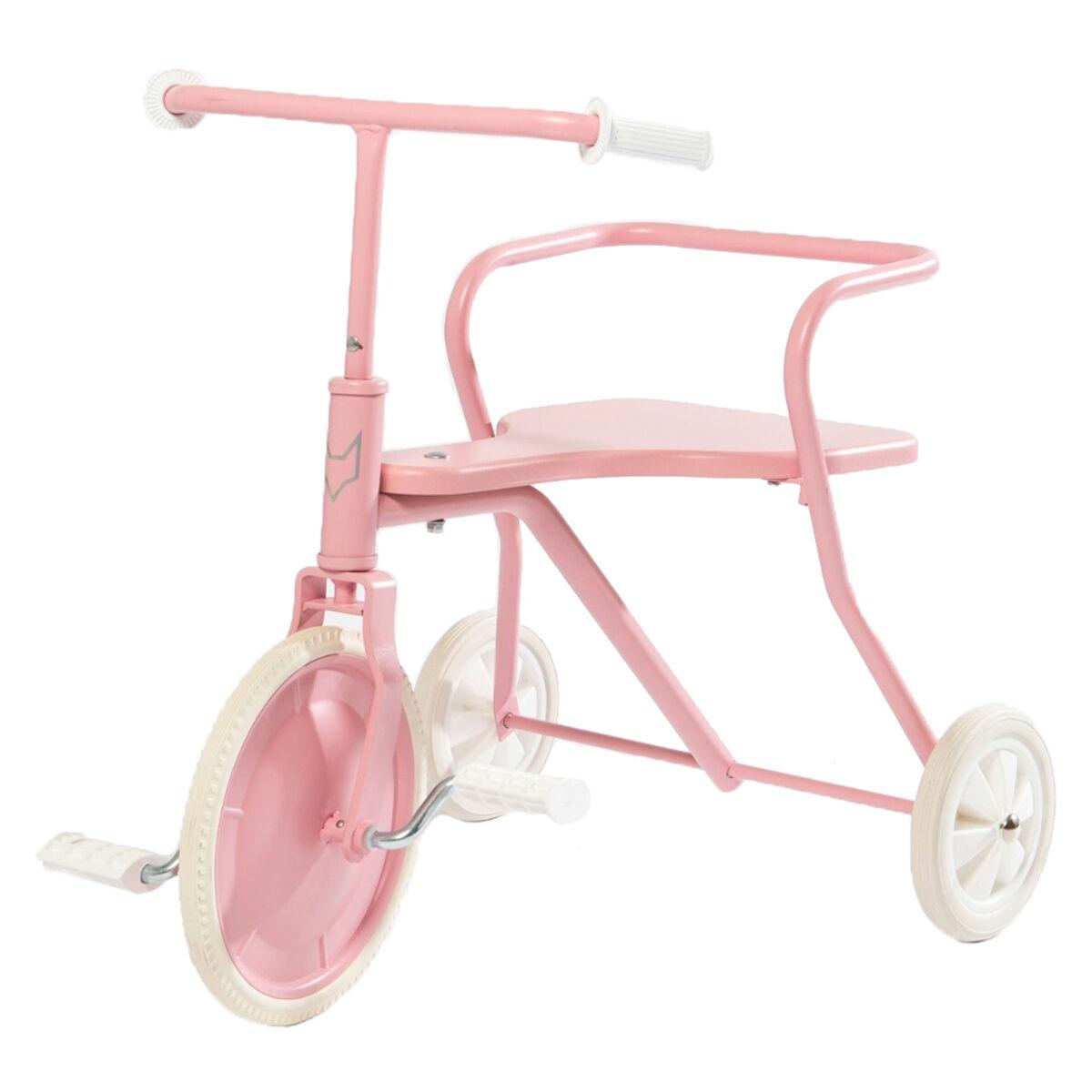 Fox Rider Tricycle en Métal - Rose Vintage