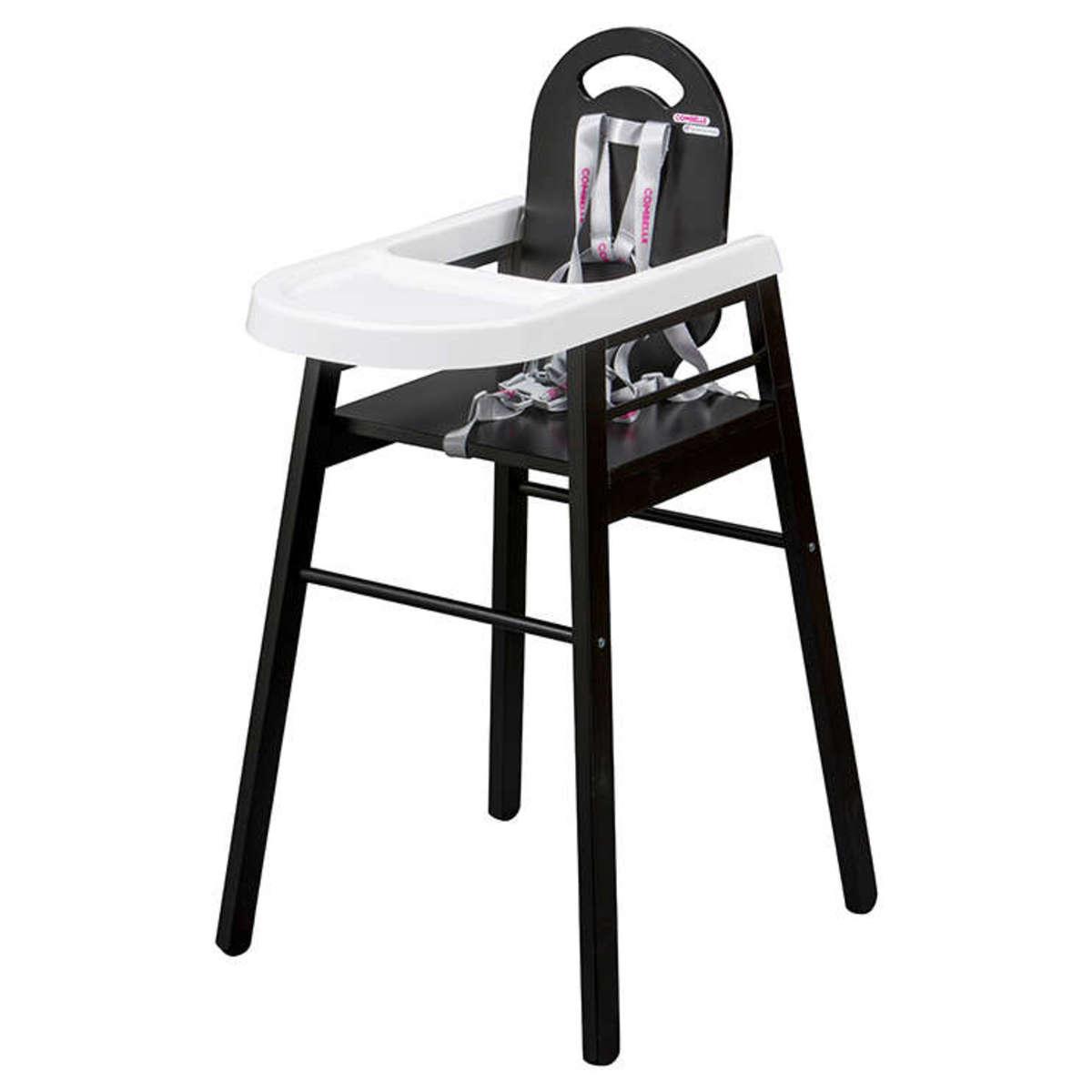 Combelle Chaise Haute Fixe Lili - Noir