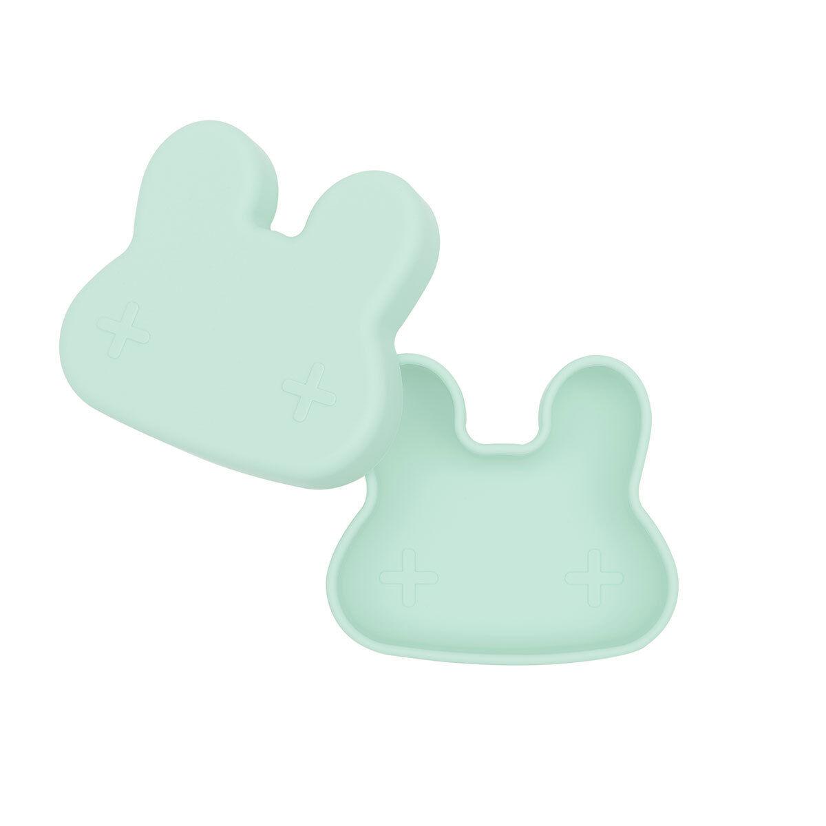 We Might Be Tiny Petite Boîte à Goûter Lapin - Minty Green