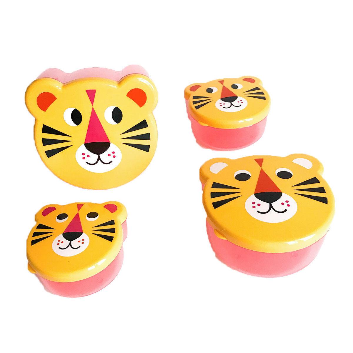 Omm Design Boîte à Goûter Gigognes - Tigre