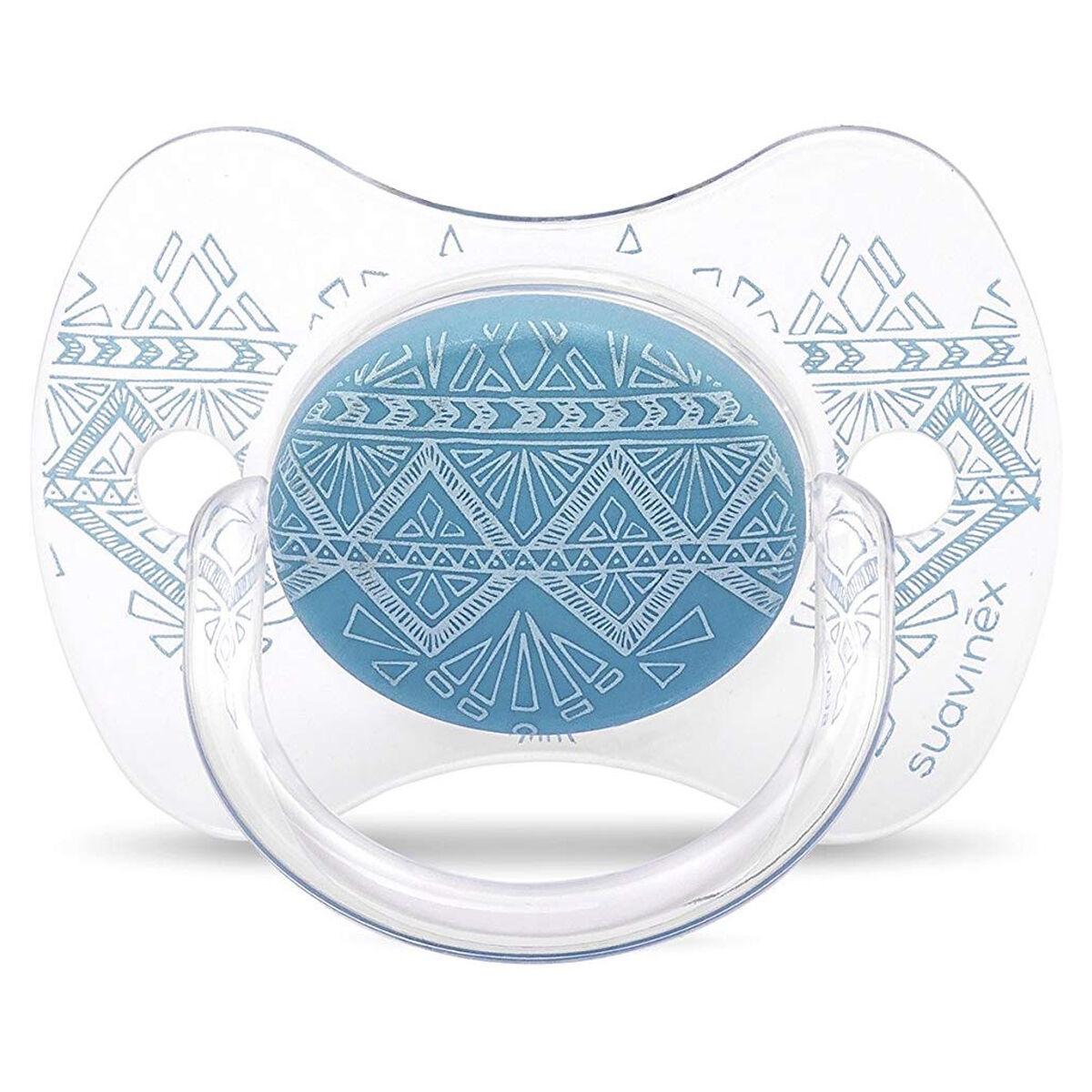 Suavinex Sucette Ethnic Turquoise - 0/4 Mois