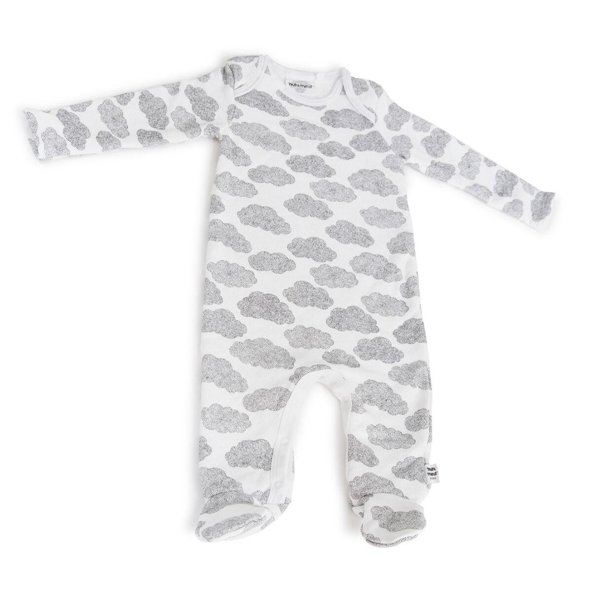 Moumout Pyjama Bobo Feet Cotton Nuages - 18 Mois