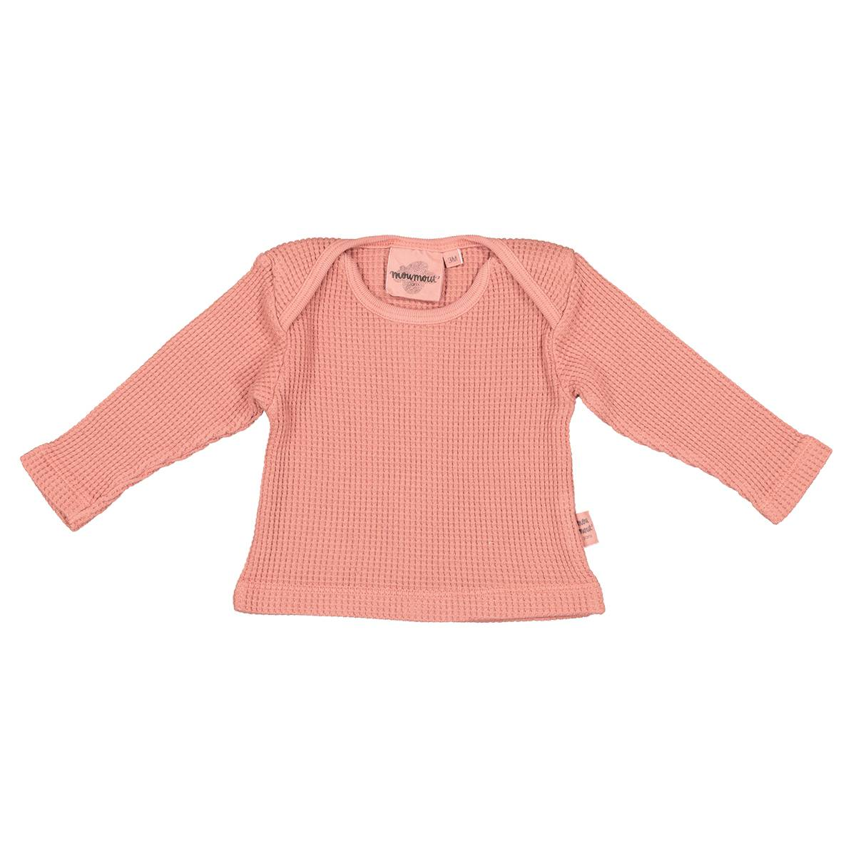 Moumout Tee-shirt Mü Bee Terracotta - 6 Mois