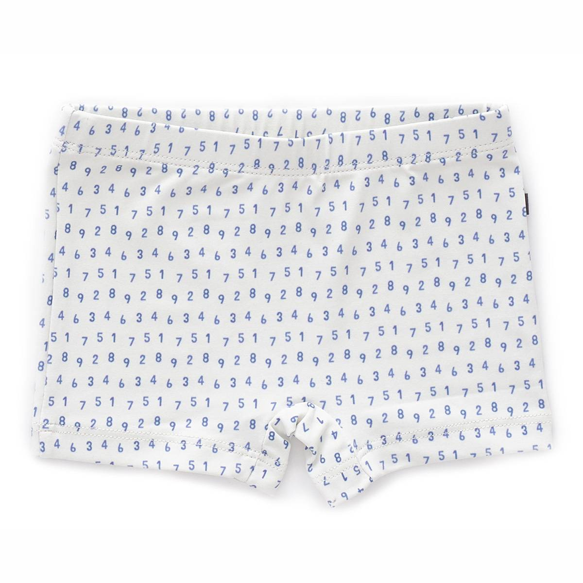 Oeuf NYC Maillot de Bain Numbers - Blanc - 12 Mois