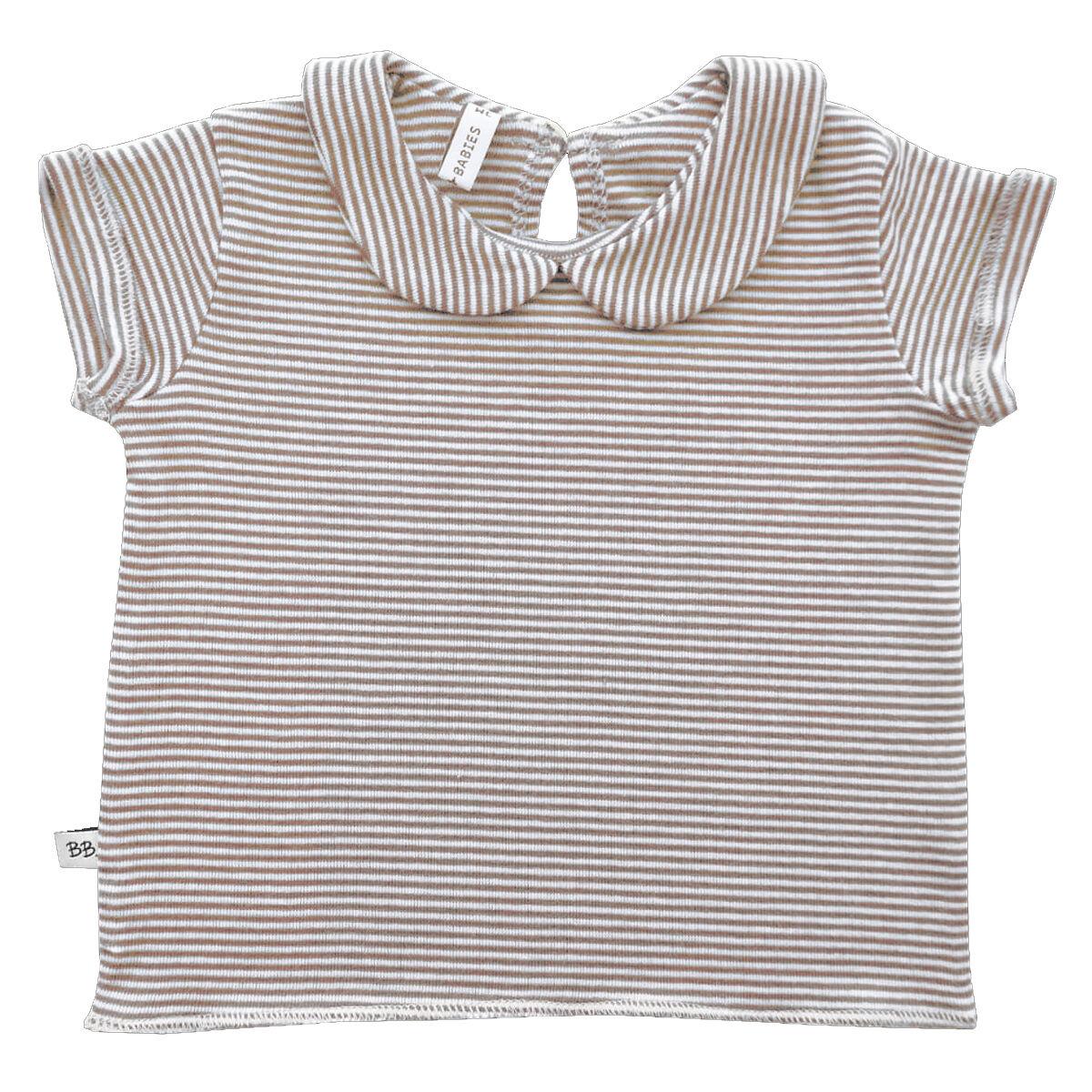 BAMBOOM Tee-Shirt Col Claudine Milleraies Rose - 18 Mois