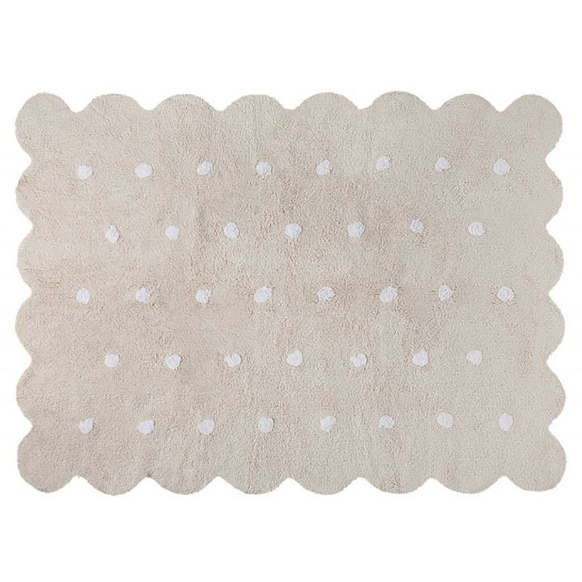 Lorena Canals Tapis Lavable Biscuit Beige  - 120 x 160 cm